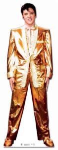 Elvis Gold Lamè Suit sagoma 182 cm H