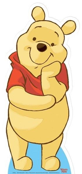 Winnie the Pooh (Star Mini Cut-out) sagoma 91 X 41 cm