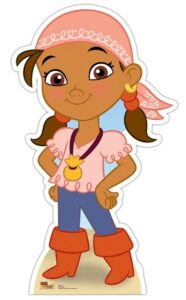 Izzy - Jake and the Neverland Pirates (Star Mini Cut-out) sagoma 89 X 52 cm