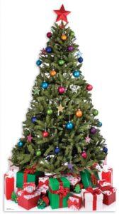 Sagoma Albero di Natale 190 cm H