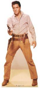 ELVIS GUNFIGHT sagoma 189 X 81 cm