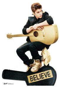 Justin Bieber (Believe) sagoma 150 X 102 cm