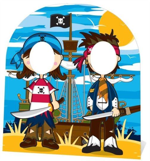 Pirati Stand In (child-sized) sagoma 120 X 103 cm