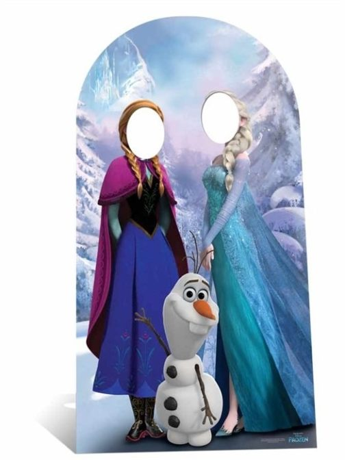 Disney Frozen Stand-In sagoma misura adulti