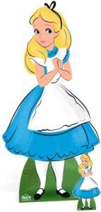 Sagoma cartonata Alice nel paese delle meraviglie.