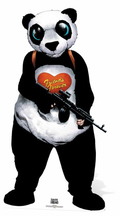 Sagoma cartonato Panda man Suicide Squad