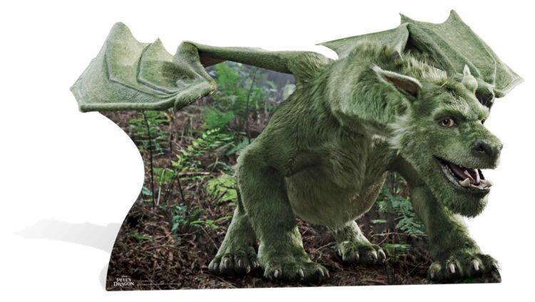 """Sagoma Elliot """"Il Drago Invisibile"""" 95x161 cm"""