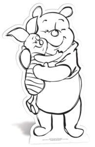 Winnie the pooh Colour-In Cutout sagoma 91 X 50 cm