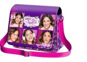 Borsa tracolla con patta Violetta Portrait