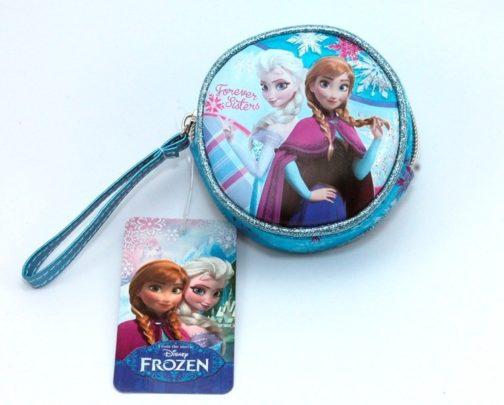 Portamonete tondo Disney Frozen Forever Sisters