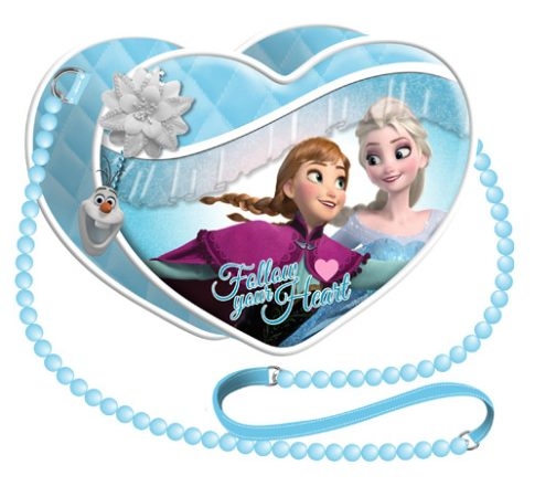 Borsetta cuore Disney Frozen Snow