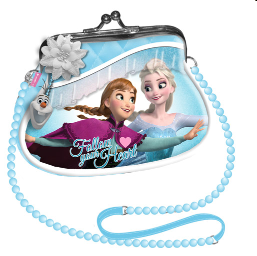 Borsetta Disney Frozen Retrò Follow Your Heart