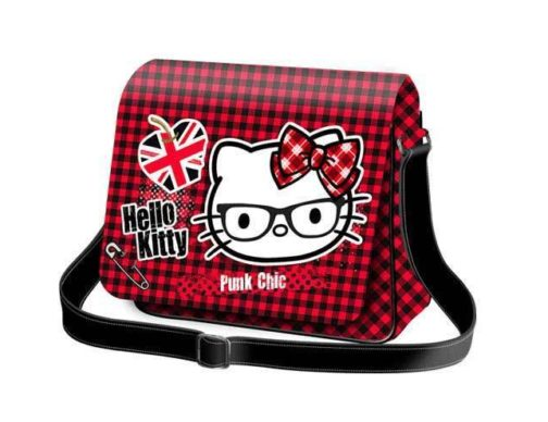 Borsa con patta Hello Kitty Punk Chic