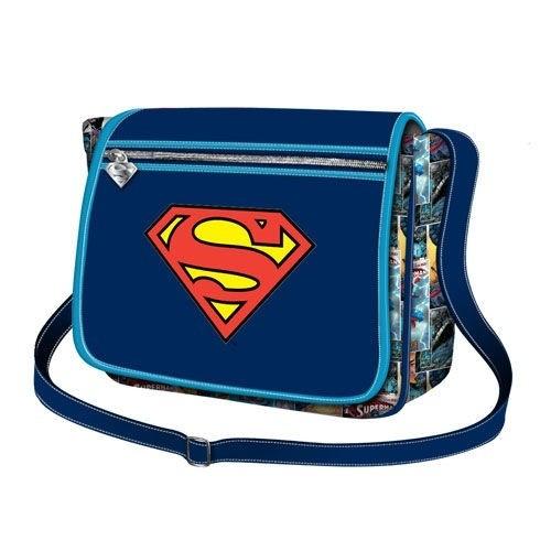 Borsa tracolla con patta Superman DC Comics