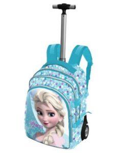 Zaino trolley elementari Disney Frozen Elsa