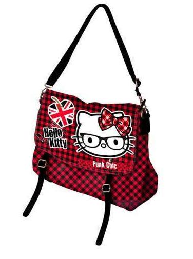 Borsa tracolla Hello Kitty Punk Chic