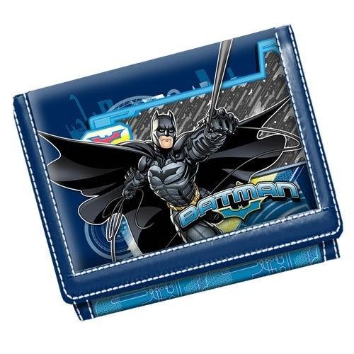 Portafogli con velcro Batman