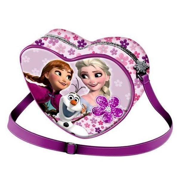 Borsa cuore Disney Frozen Flowers