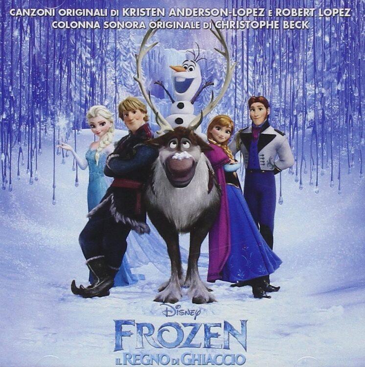 Cd colonna sonora Disney Frozen Ita