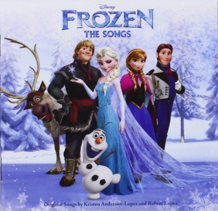 Cd colonna sonora Disney Frozen