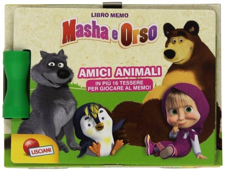 Masha e Orso. Amici animali. Con 8 mini puzzle