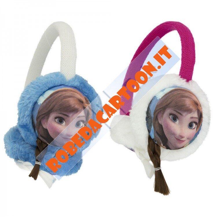 Copriorecchie Disney Frozen con treccine in 3D