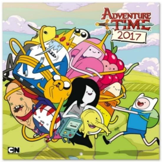 Adventure Time Calendario 2017 con poster in omaggio