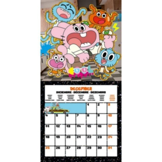Gumball Calendario 2017 con poster in omaggio
