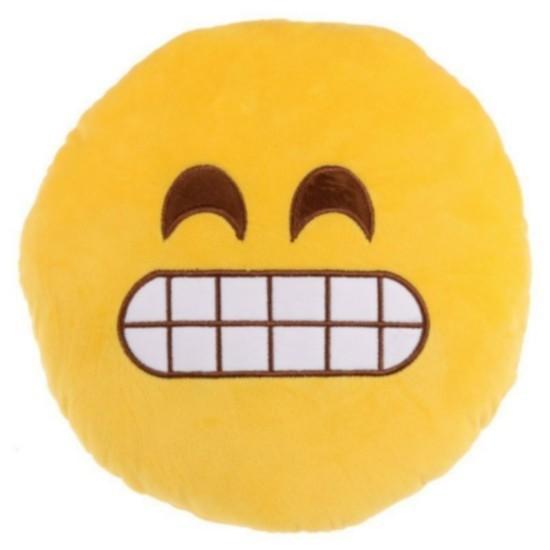 """Cuscino peluche Emoji """"Ghigno"""""""
