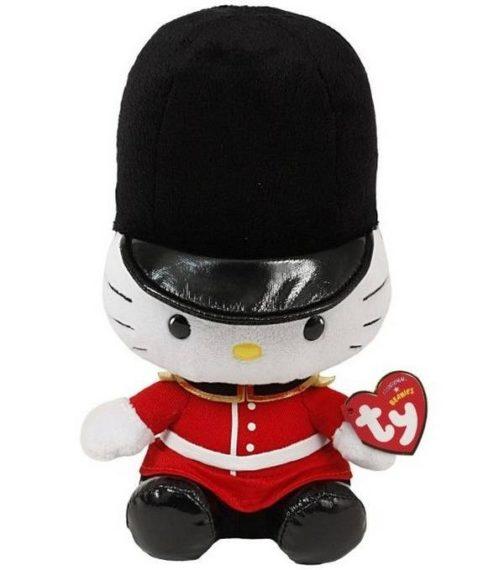 Peluche Beanie Hello Kitty Guardia della Regina