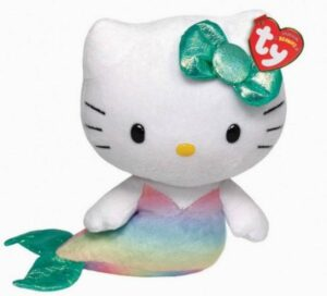 Peluche Beanie Hello Kitty Sirena