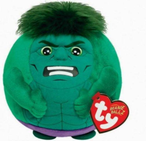 Peluche Beanie tondo Hulk Eroi Marvel