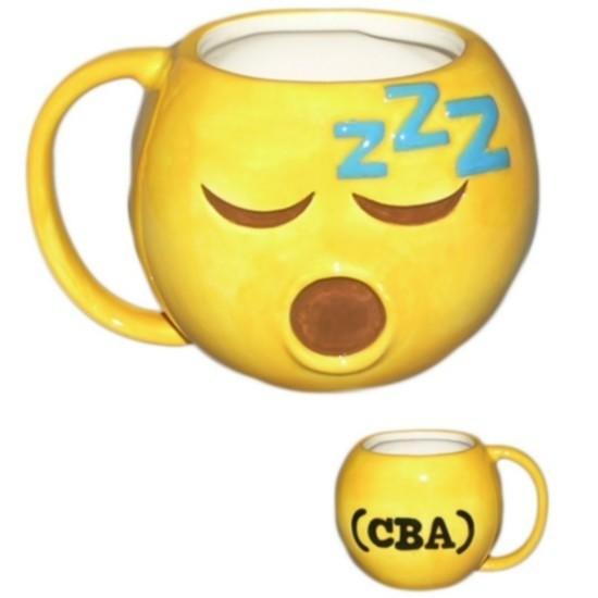 "Tazza Emoji ""Sleeping Face"""
