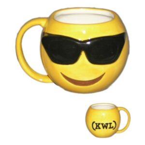 """Tazza Emoji """"Occhiali Da Sole"""""""
