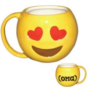 """Tazza Emoji """"Faccina Innamorata"""""""