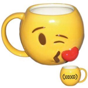 """Tazza Emoji """"Blowing Kisses"""""""