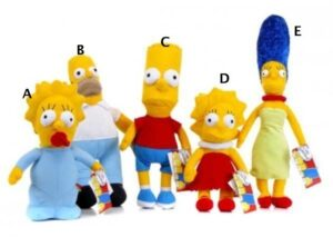 Peluche The Simpson 23cm