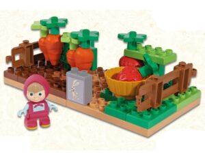 Costruzioni Masha e Orso: L'Orto di Masha 35 pezzi e 1 personaggio