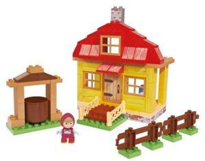 Playset mattoncini casa di Masha - Masha e Orso