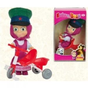 Bambola Masha con il triciclo - Masha e Orso