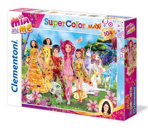 Puzzle Mia and Me Maxi 104pz