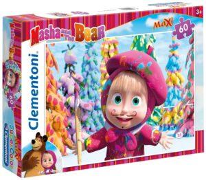 Puzzle Masha e Orso Maxi 60 pz Clementoni