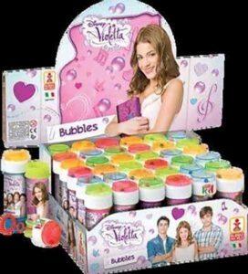 Bolle di sapone Violetta Disney