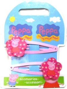 Fermagli per capelli Peppa Pig Fiore