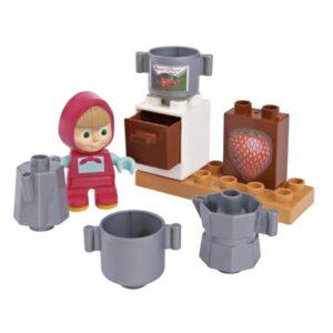Set base costruzioni Masha e Orso: colazione con Masha