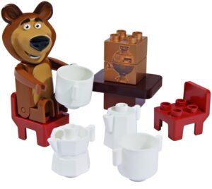Set base costruzioni Masha e Orso: Colazione con Orso