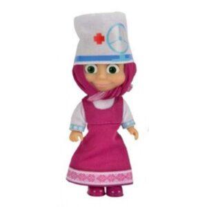 Bambola Masha in costume da infermiera - Masha e Orso