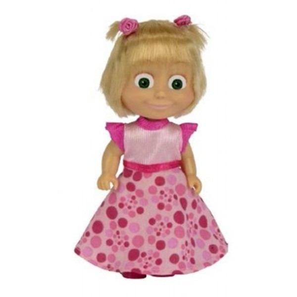 Bambola Masha in costume rosa - Masha e Orso