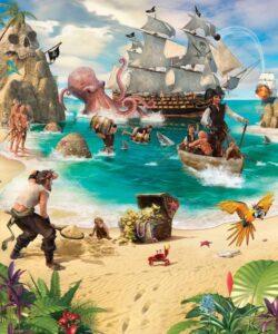 Murales Pirati e Tesori Walltastic