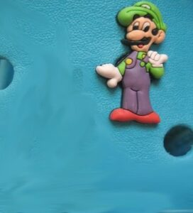 Jibbitz per Crocs Super Mario Luigi